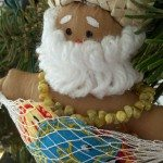 Santa in Hawaii by Wahine Media