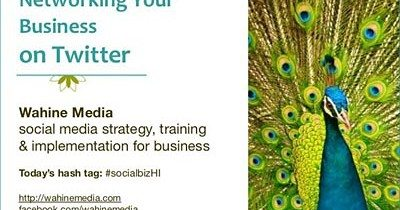 Slideshare: Networking Your Business on Twitter
