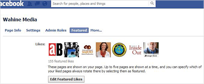 Featured Facebook Likes