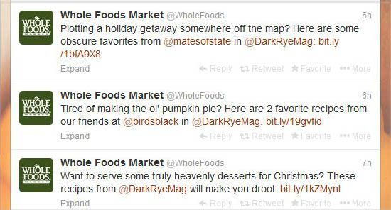 Whole Foods on Twitter