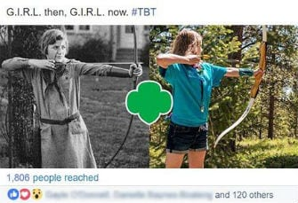 Historical Girl Scout